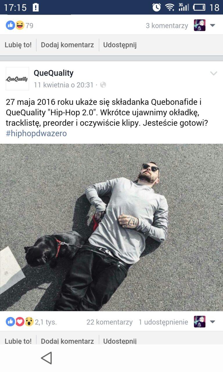 """Quebonafide wydaje """"Hip Hop 2.0"""""""