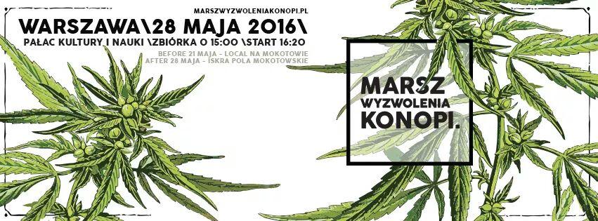 Marsz Wyzwolenia Konopii 2016!