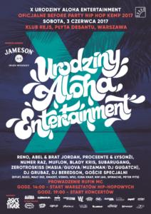 Urodziny Aloha Entertainment już 3 czerwca!