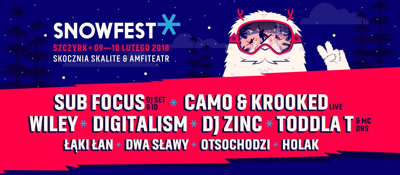SnowFest 2018 || Poznaliśmy kolejnych artystów!