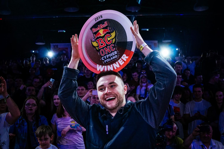 Kostek Zwycięzcą Red Bull BC ONE CYPHER Poland!