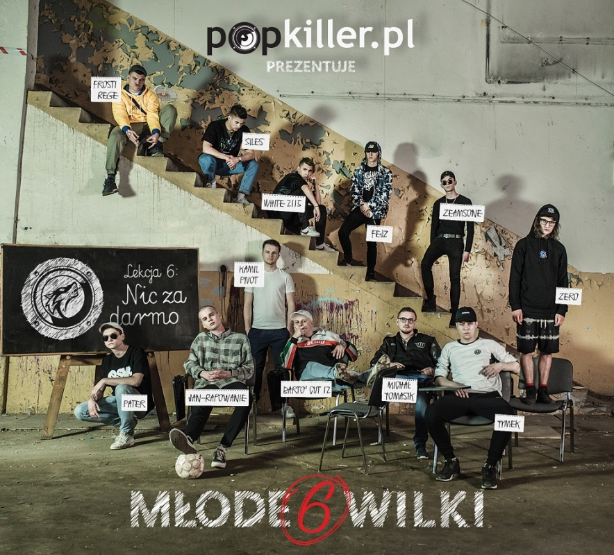 Tymek dwunastym Młodym Wilkiem Popkillera 6!
