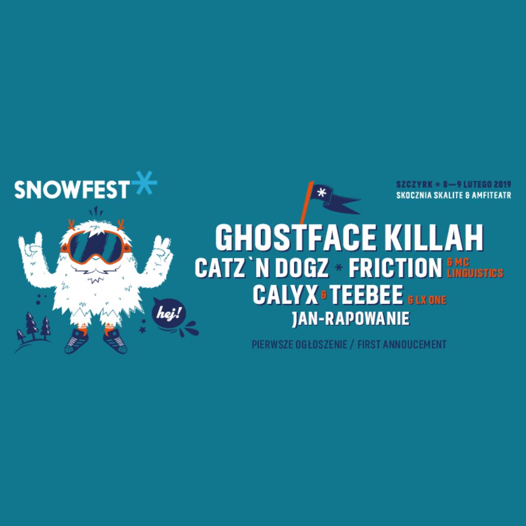 Pierwsze Ogłoszenie || SnowFest Festival 2019!