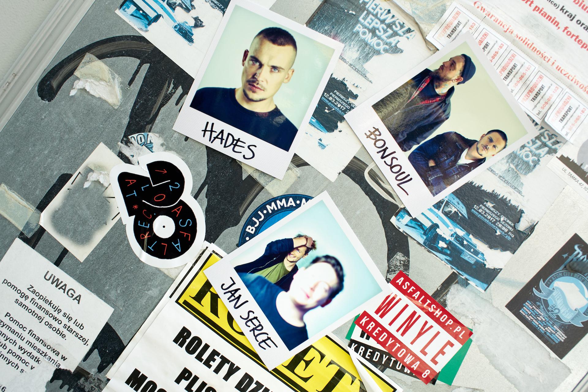 Nowi zawodnicy w Asfalt Records: Hades, BonSoul, Jan Serce