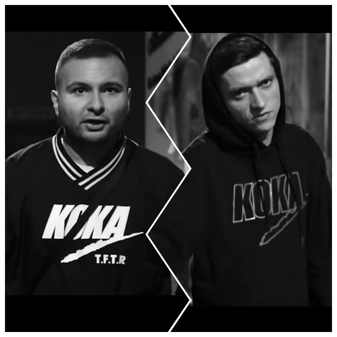 Zimne Serce || Dwóch Takich gościnnie na kanale Koka Beats!