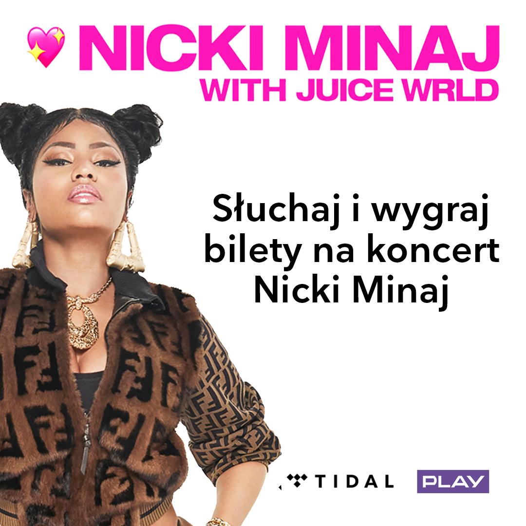 Koncert Nicki Minaj!    Używaj aplikacji TIDAL i wygraj bilety!