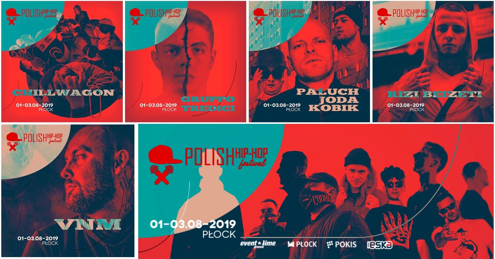 Druga odsłona artystów! || Polish Hip Hop Festival 2019!