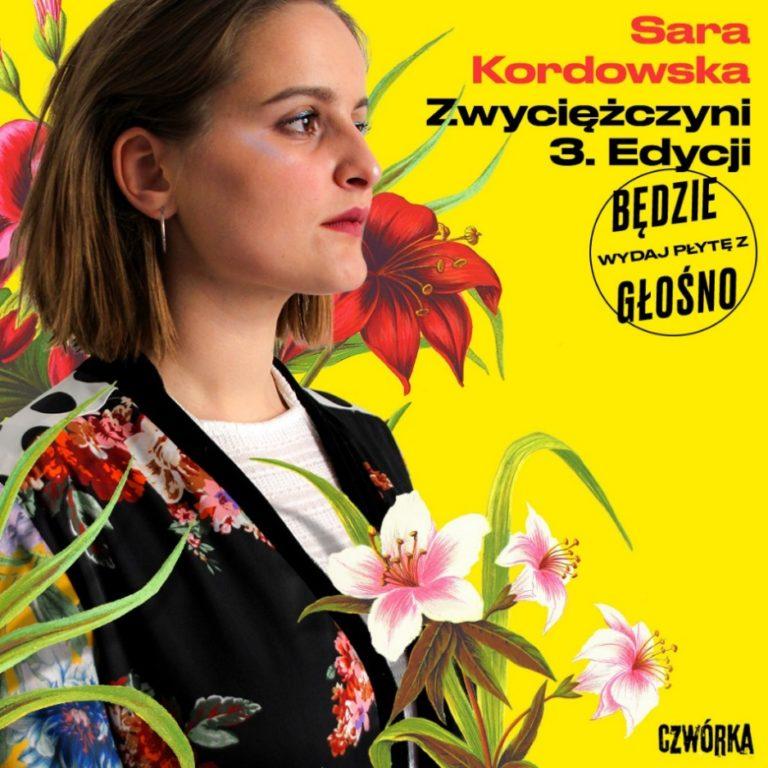 """Sara Kordowska wygrywa trzecią edycję """"Wydaj Płytę z Będzie Głośno""""!"""