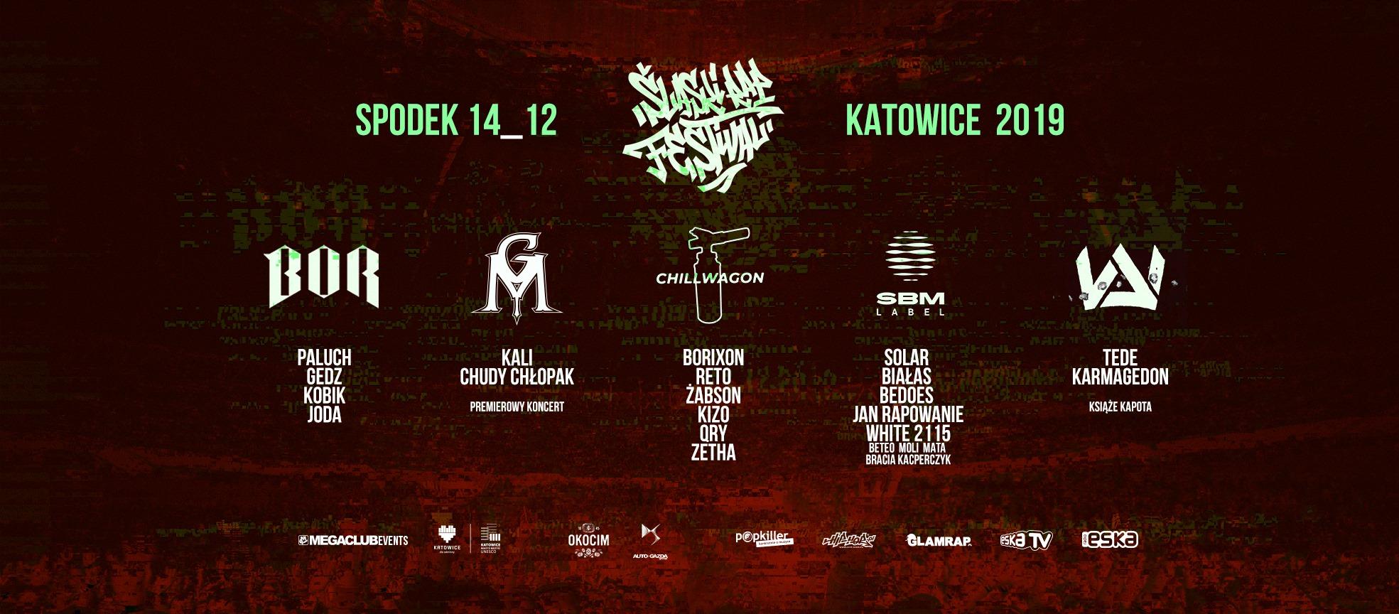 Śląski Rap Festival 2019 || Line – up już znany!