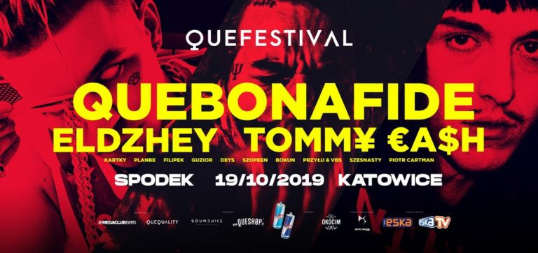 QueFestival 2019 już za miesiąc!    Katowice