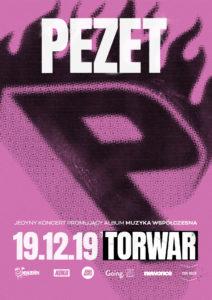 Jedyny koncert Pezeta już 19 Grudnia!