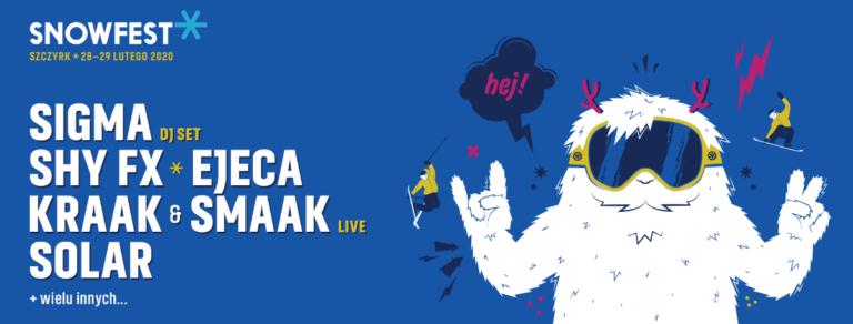 Siódma edycja SnowFest Festival    Pierwsi artyści już znani!