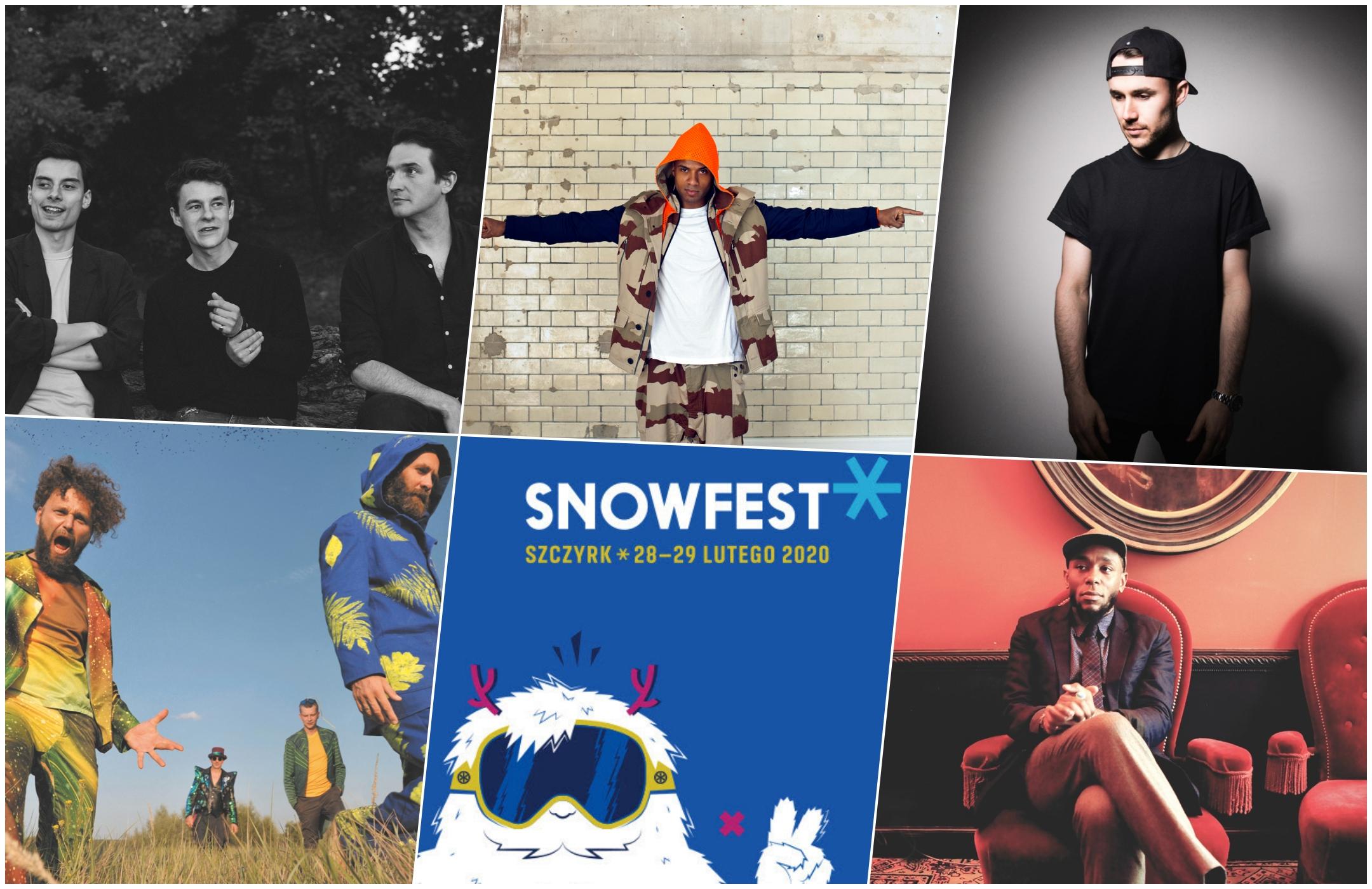 Druga pula artystów SnowFest 2020, czyli zapraszamy do Szczyrku!