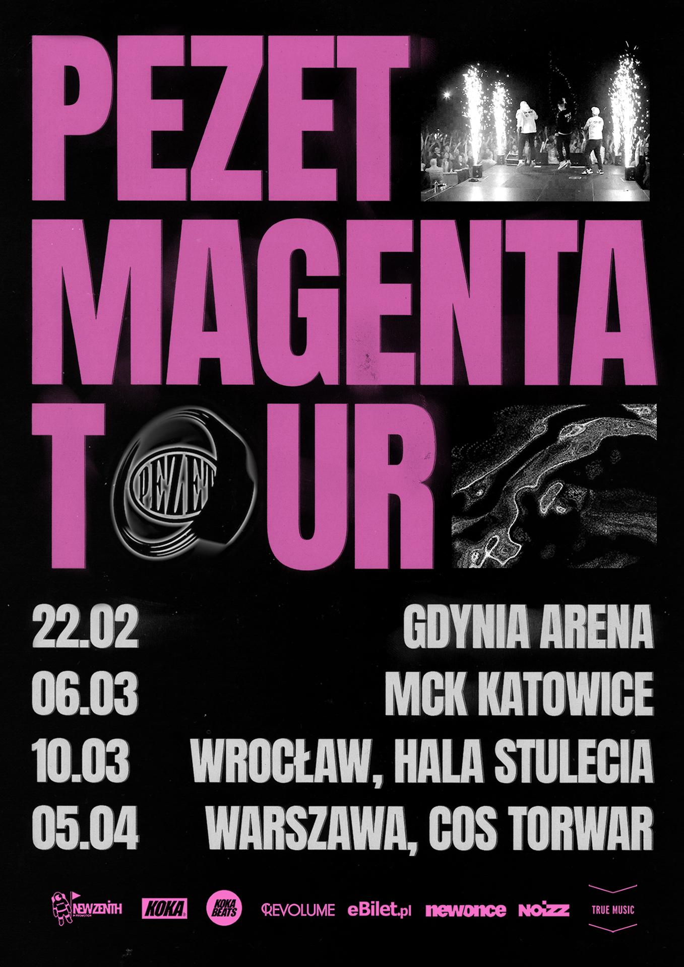 Pezet ogłasza Magenta Tour! || Na trasie cztery miasta!