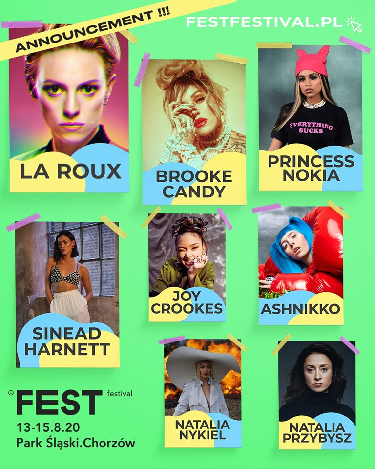 Osiem wyjątkowych kobiet w line-up'ie Fest Festivalu!