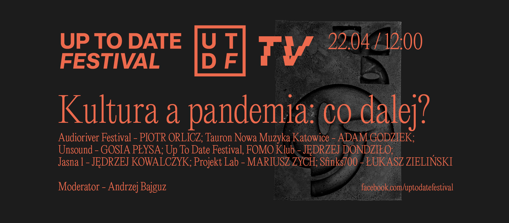 Kultura a pandemia: co dalej? Debata od Up To Date Festivalu!