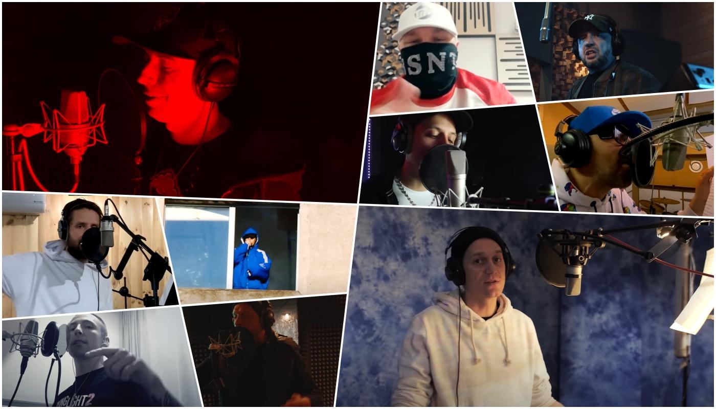 Oxon, Te-tris, Zeus, Bisz, Sławy, DGE i Peja || #Hot16Challenge2