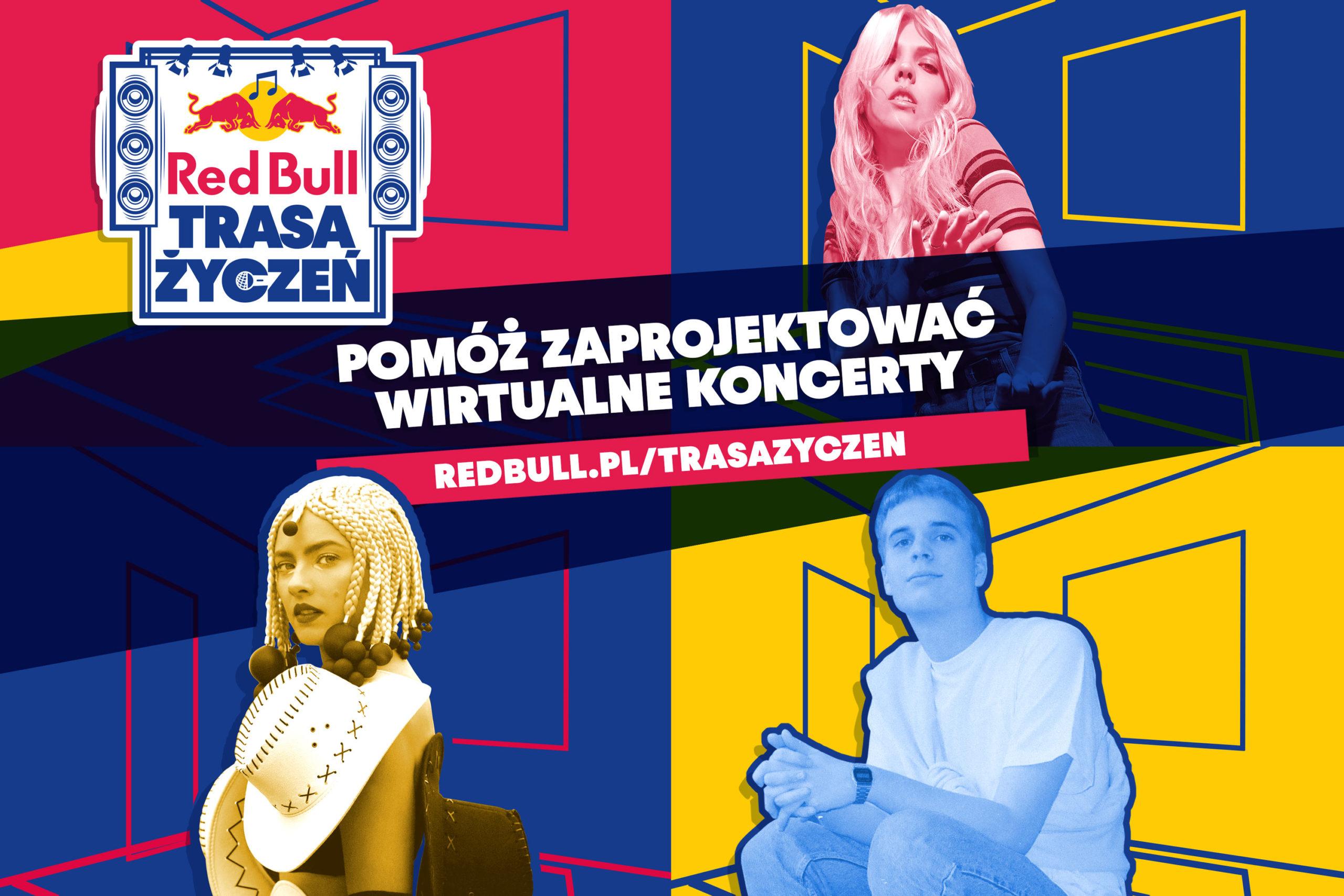 Red Bull Trasa Życzeń – Bądź więcej niż tylko widzem!