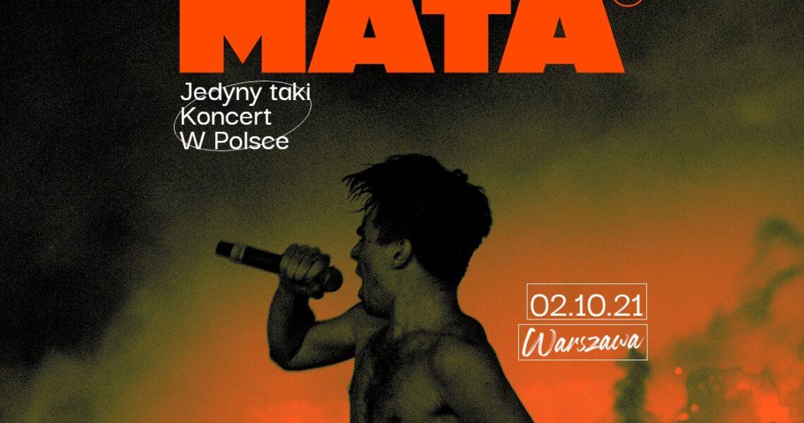 Mata wystąpi na lotnisku Bemowo! Jedyny taki koncert w Polsce!