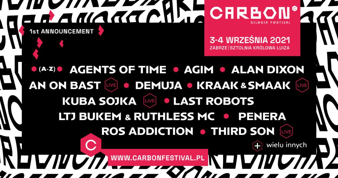 CARBON Silesia Festival  || Nowy festiwal na muzycznej mapie Polski!