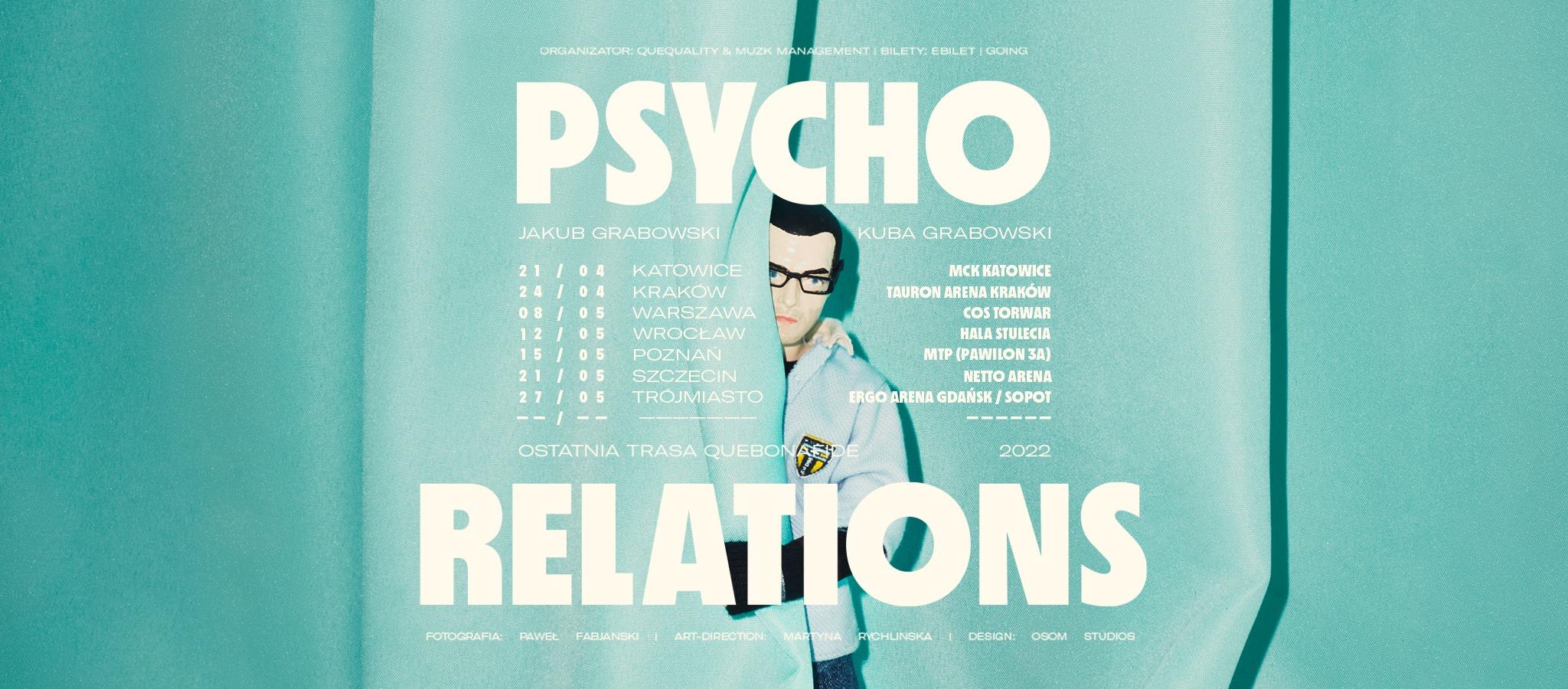 Psycho Relations    Quebonafide zapowiada ostatnią trasę!